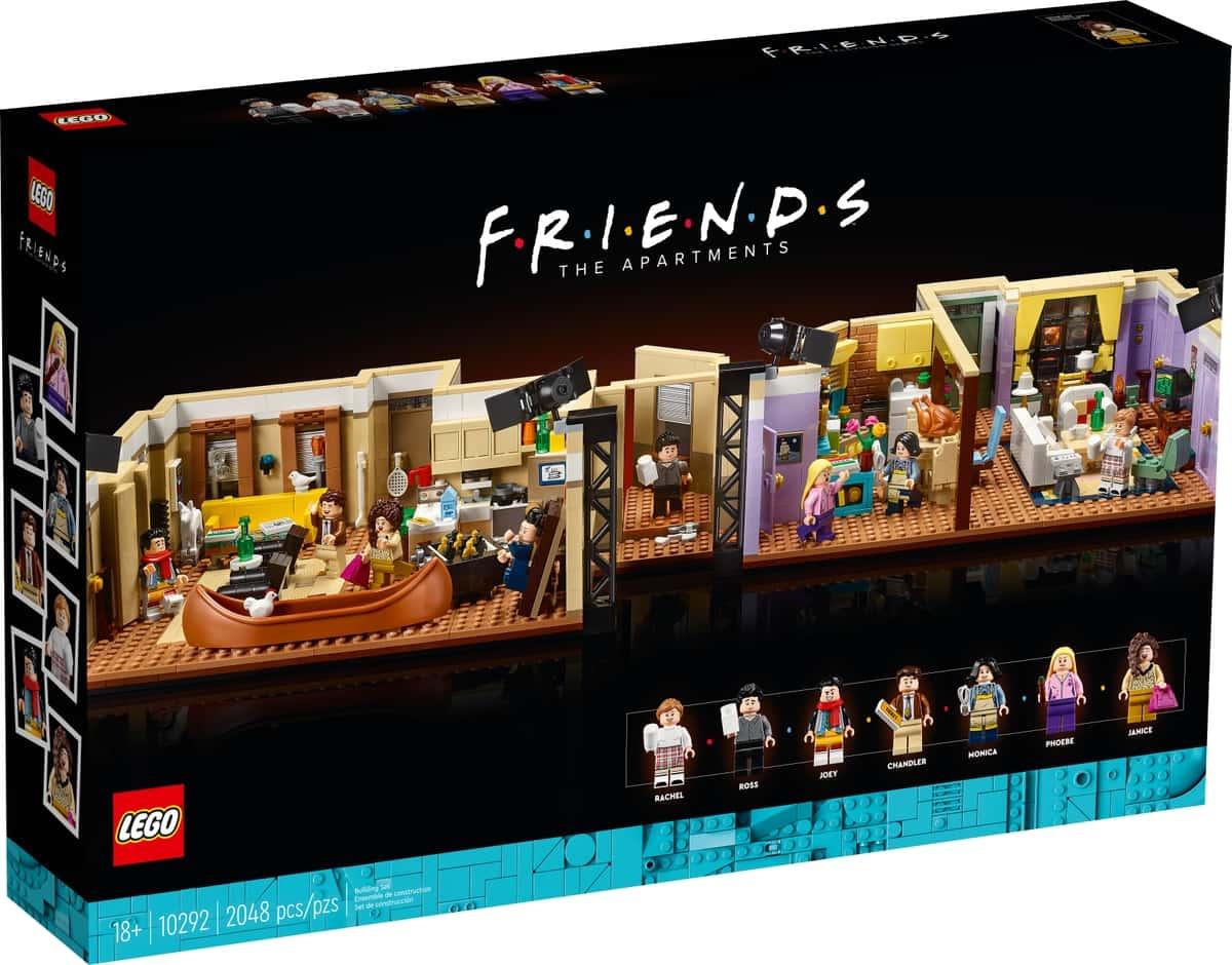 lego 10292 gli appartamenti di friends