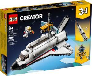lego 31117 avventura dello space shuttle