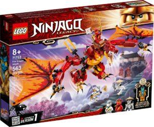 lego 71753 lattacco del dragone del fuoco
