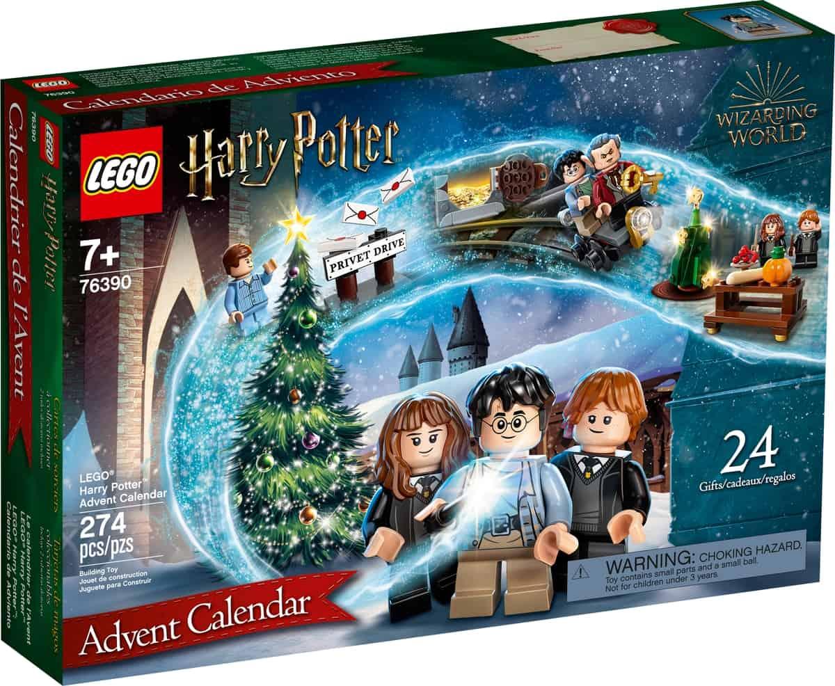 calendario dellavvento lego 76390 harry potter