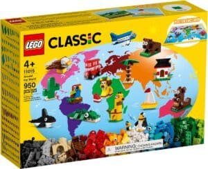 lego 11015 giro del mondo
