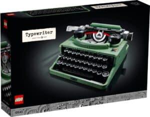 lego 21327 macchina da scrivere