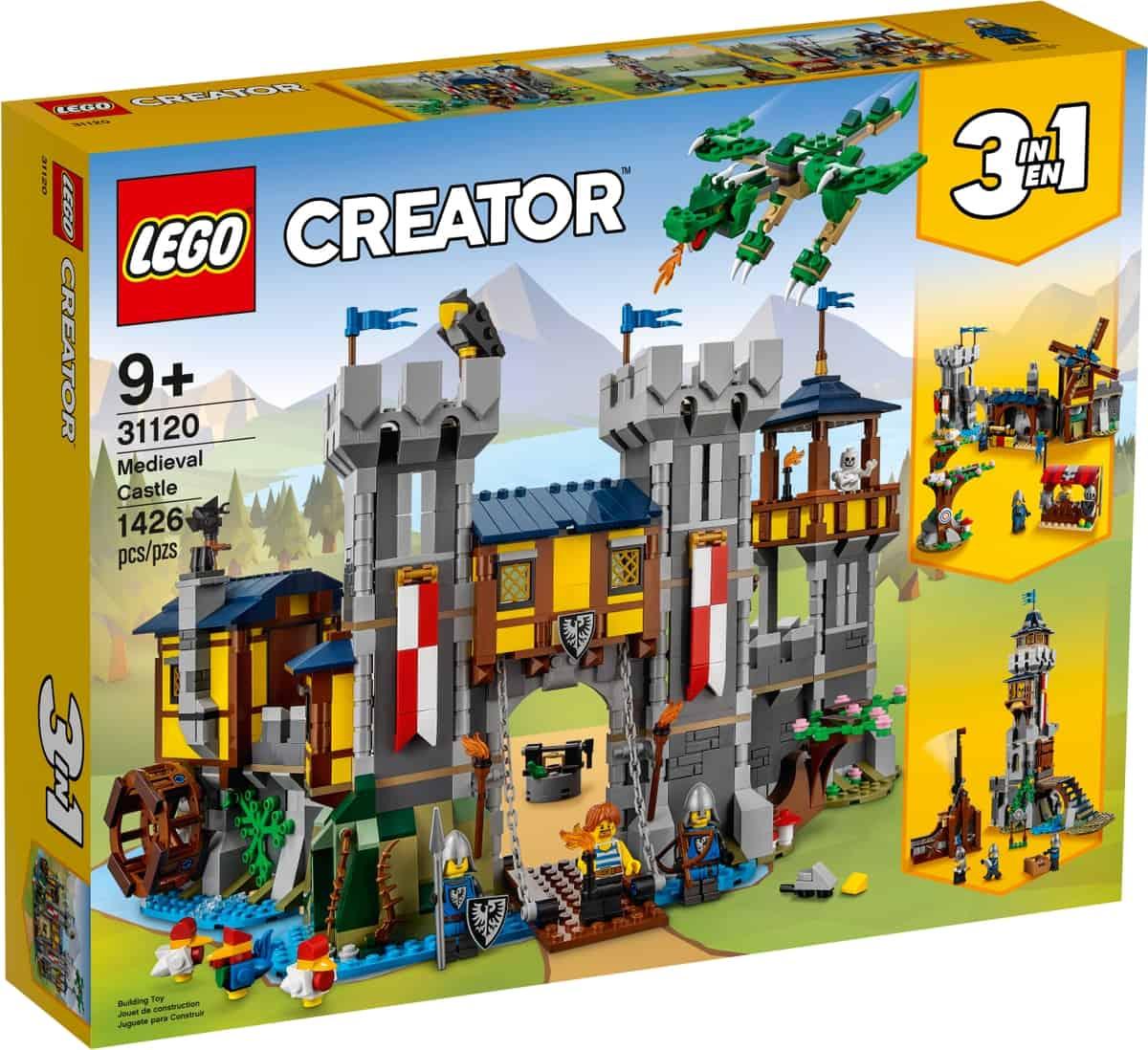 lego 31120 castello medievale