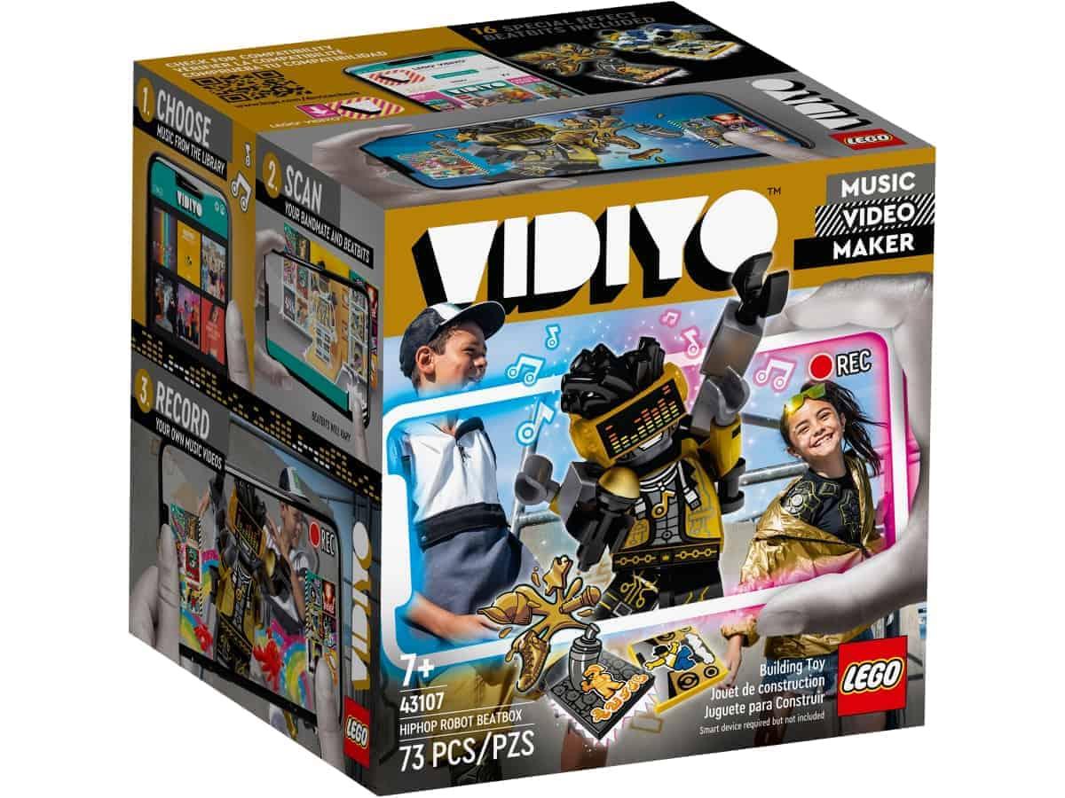 lego 43107 hiphop robot
