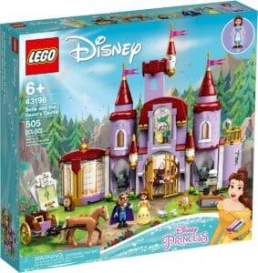 lego 43196 il castello di belle e della bestia