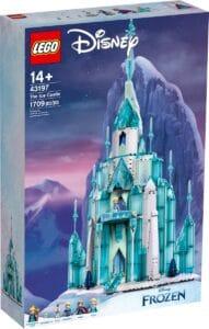 lego 43197 castello di ghiaccio