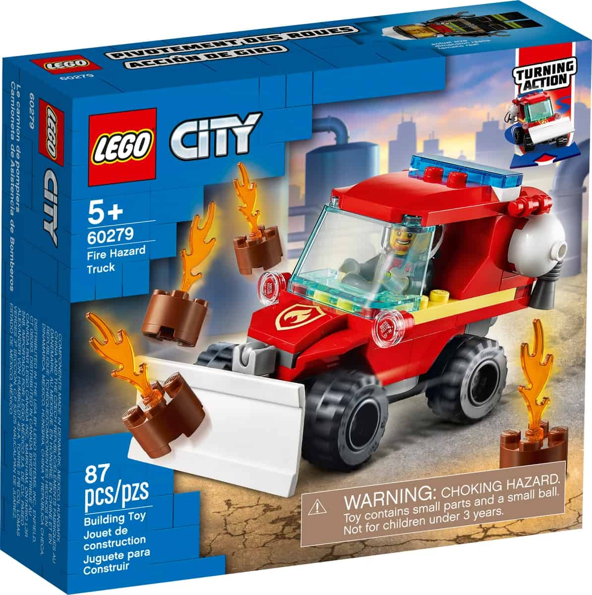 lego 60279 camion dei pompieri