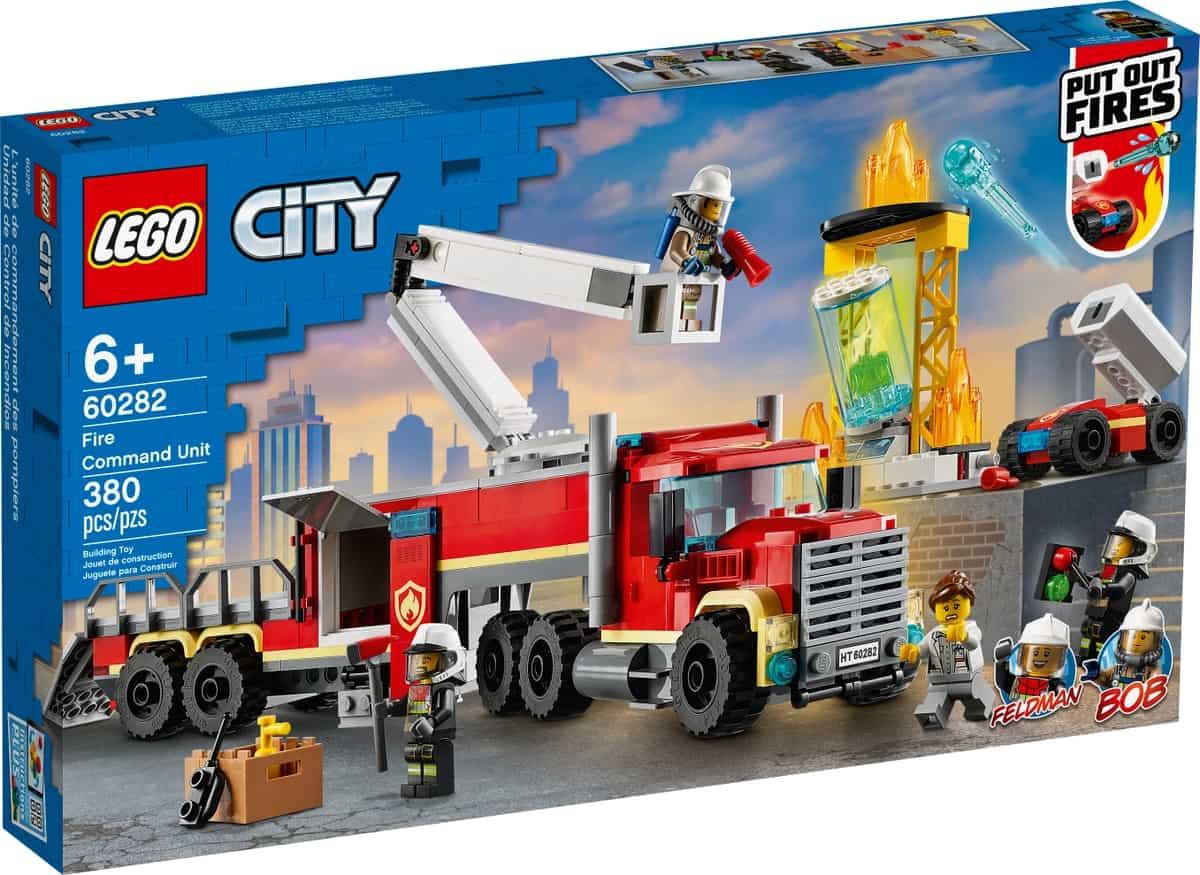 lego 60282 unita di comando antincendio