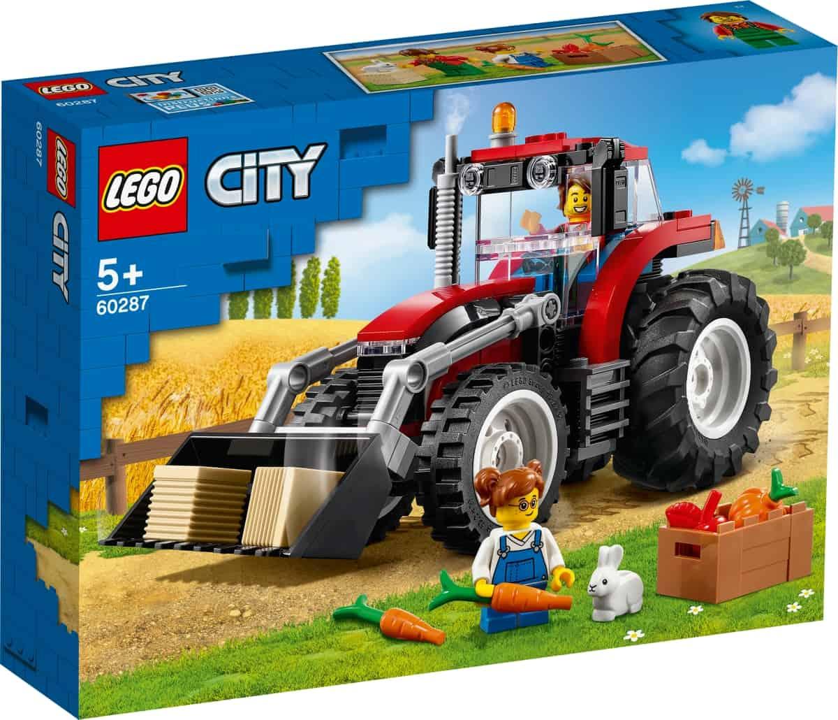 lego 60287 trattore