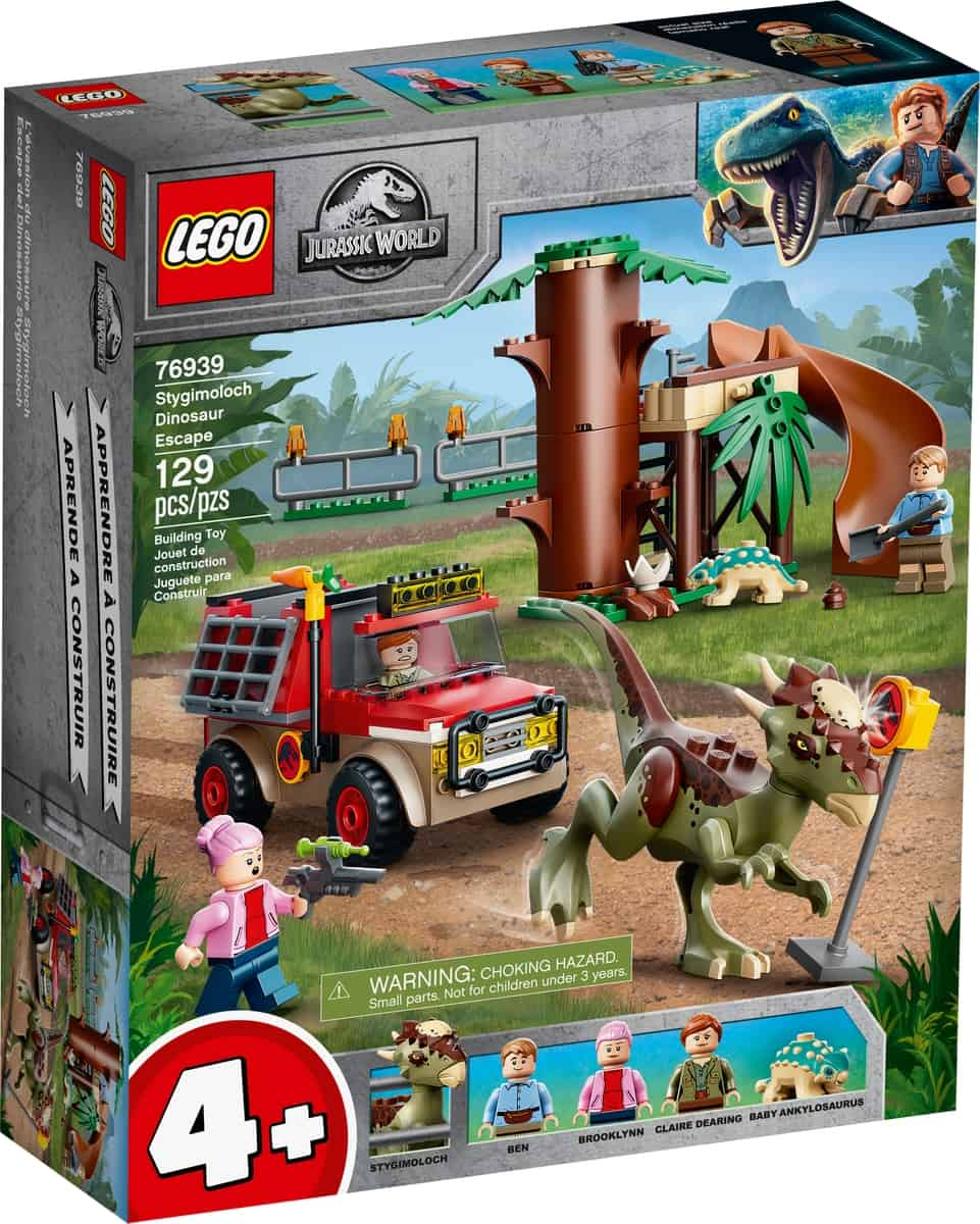 lego 76939 la fuga del dinosauro stygimoloch