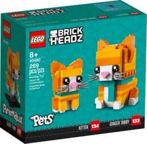 lego 40480 gatto soriano