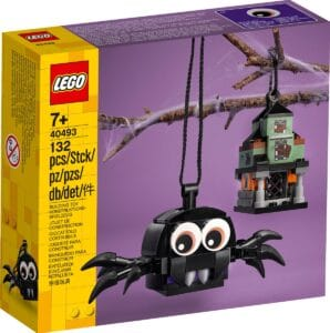 lego 40493 pack ragno e casa stregata