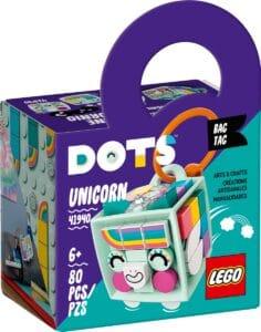 lego 41940 bag tag unicorno