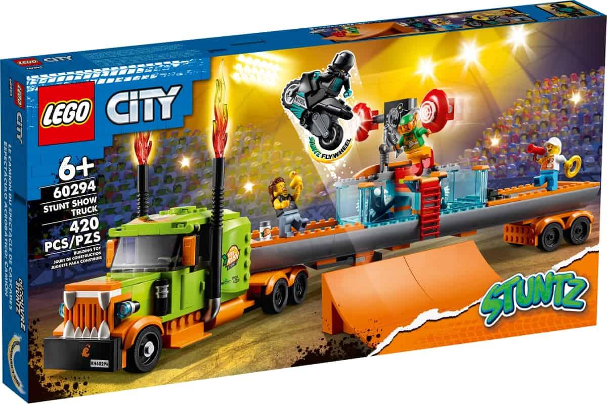 lego 60294 truck dello stunt show
