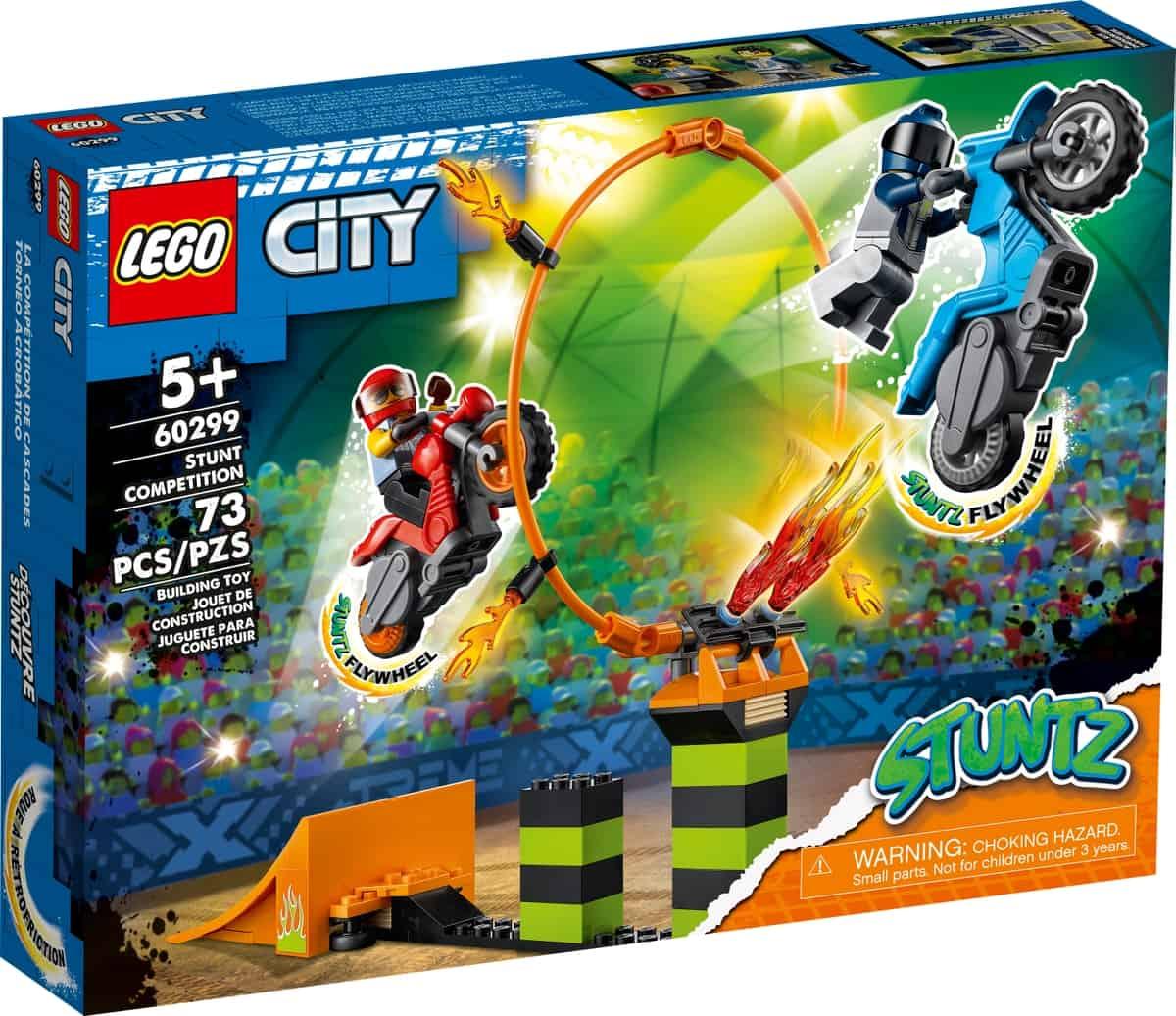 lego 60299 competizione acrobatica