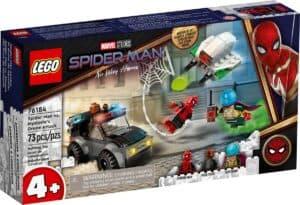 lego 76184 spider man e lattacco con il drone di mysterio