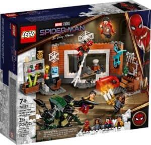 lego 76185 spider man al laboratorio sanctum