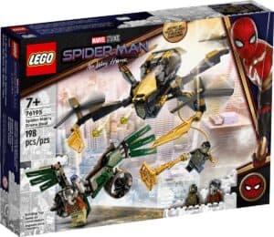 lego 76195 duello con il drone di spider man