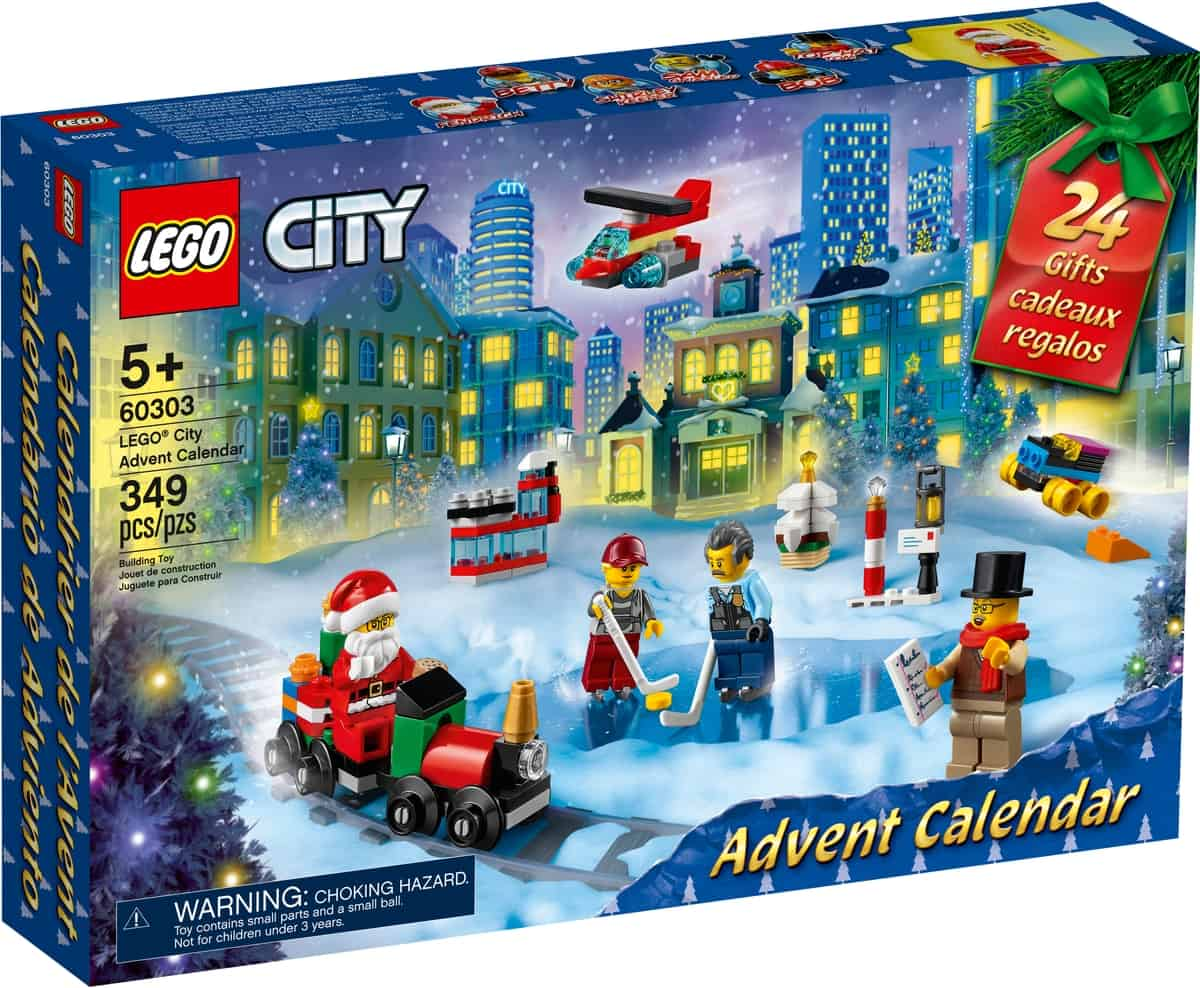 calendario dellavvento lego 60303 city