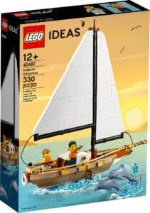 lego 40487 avventura sulla barca a vela