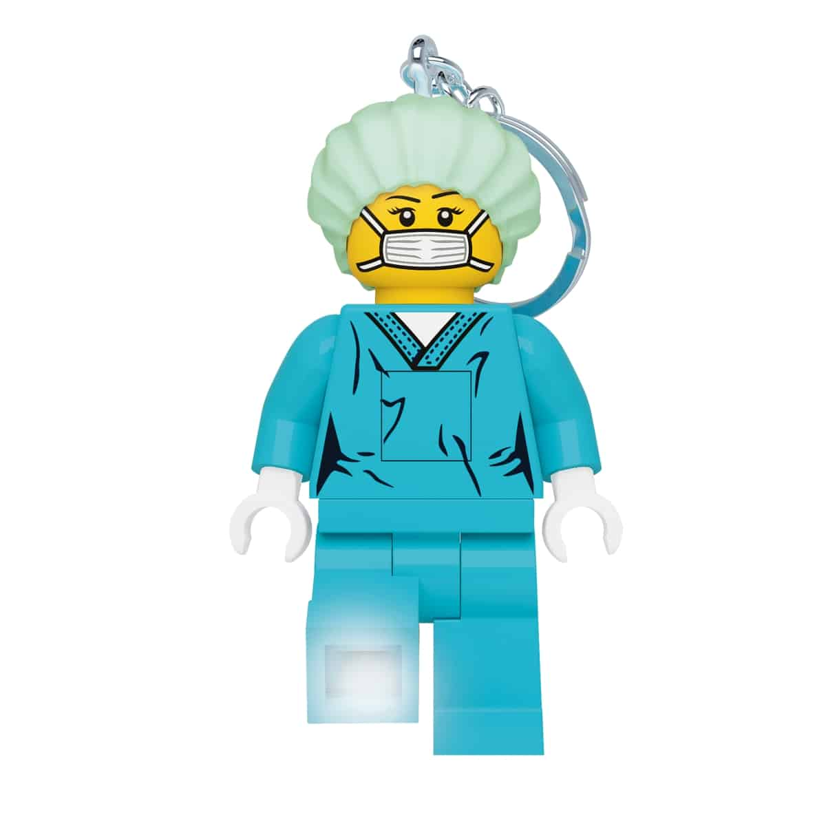 lego 5006366 torcia portachiavi del chirurgo