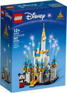 lego 40478 mini castello disney
